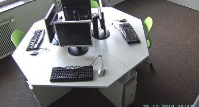 Einfache Computertische