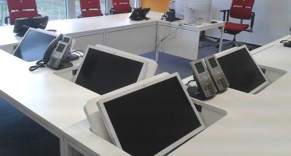 einklappbare Monitore